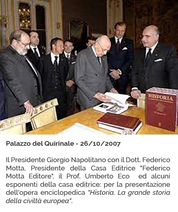 Riconoscimenti 4 - Napolitano